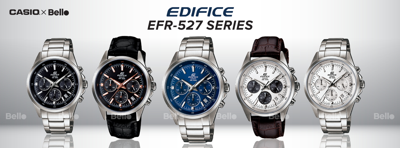 Casio Edifice EFR-527 Series