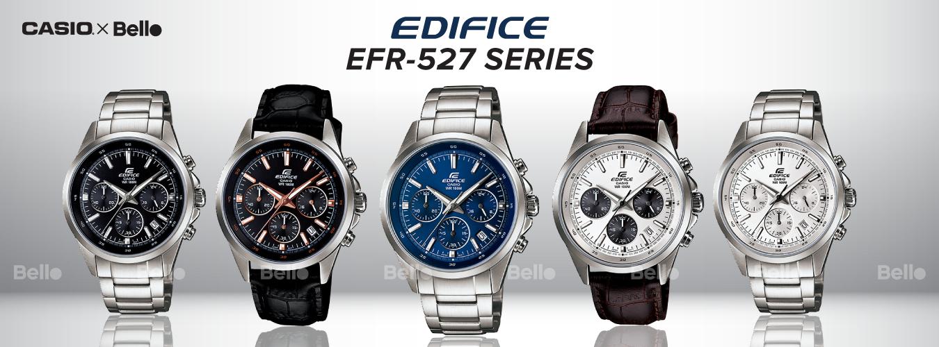Casio Edifice EFR-527 Series