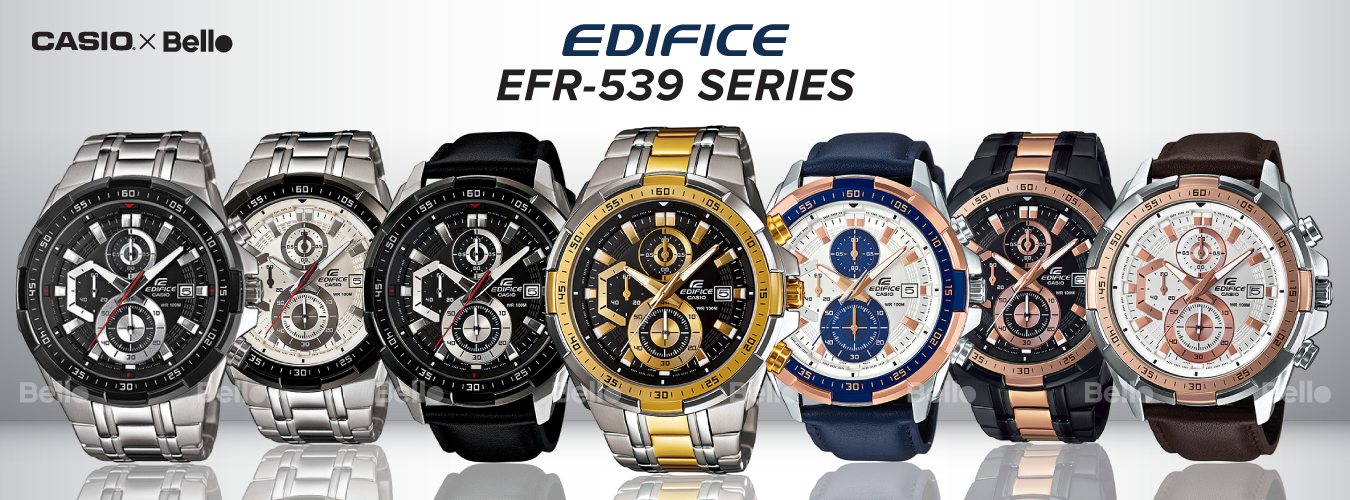 Casio Edifice EFR-539 Series