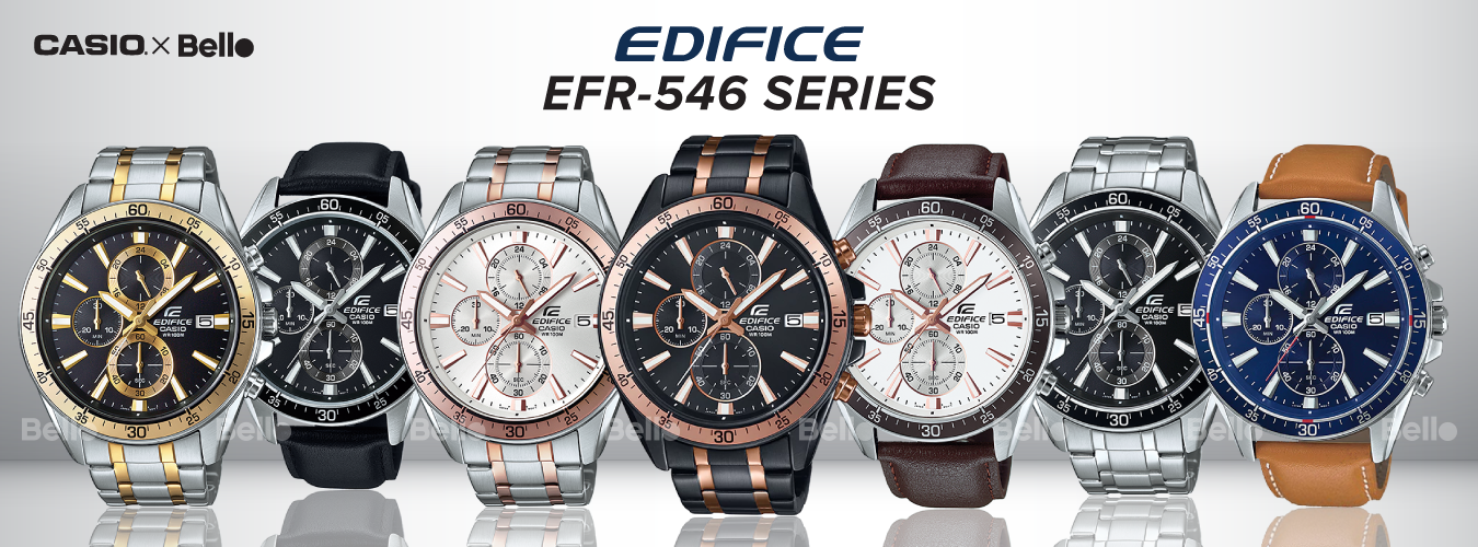 Casio Edifice EFR-546 Series