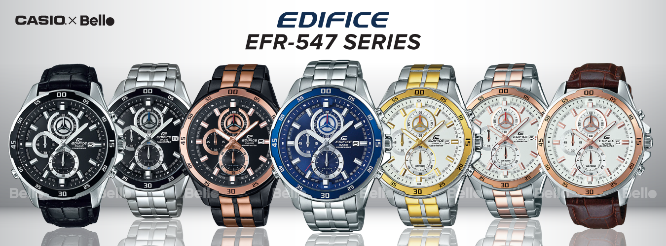 Casio Edifice EFR-547 Series