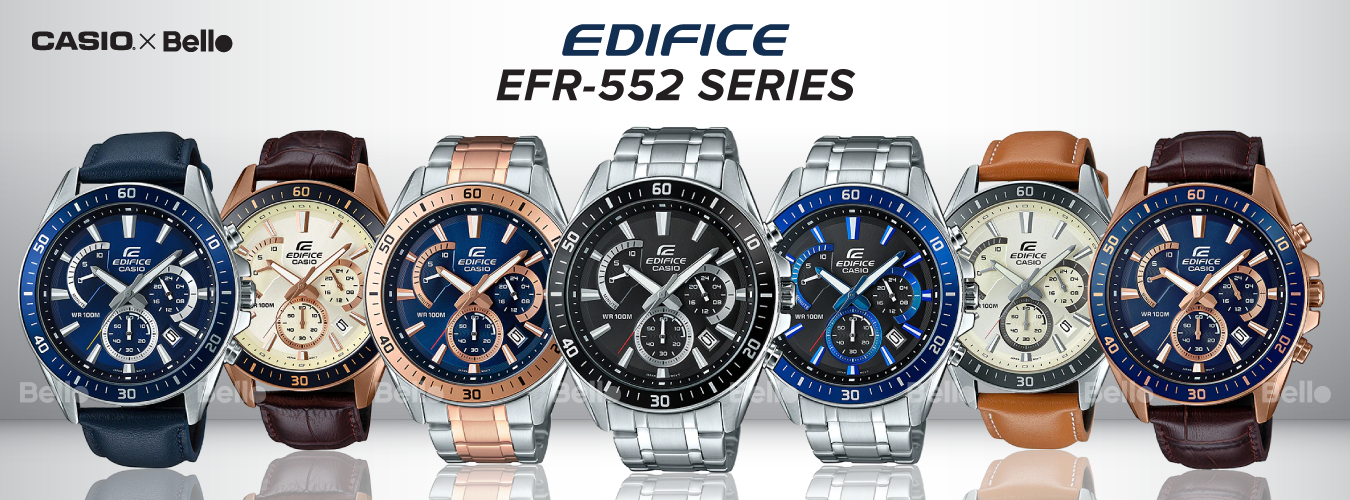 Casio Edifice EFR-552 Series
