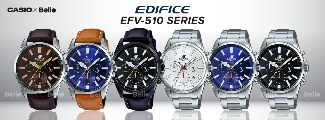 Casio Edifice EFV-510 Series