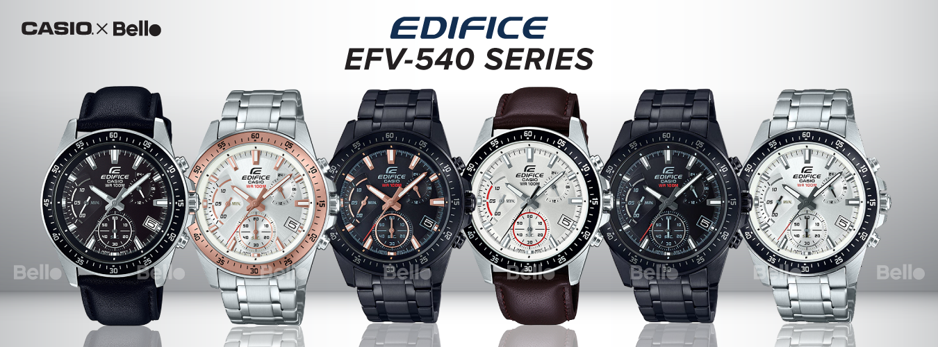 Casio Edifice EFV-540 Series