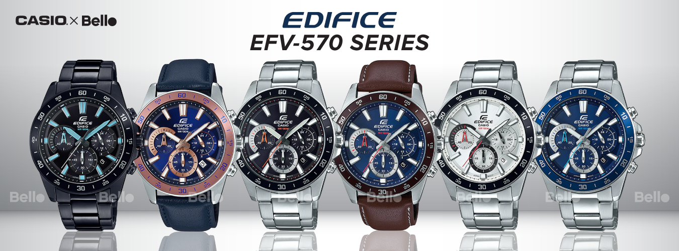 Casio Edifice EFV-570 Series