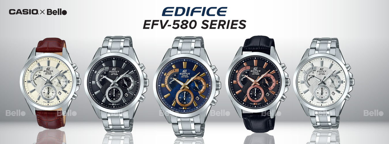 Casio Edifice EFV-580 Series