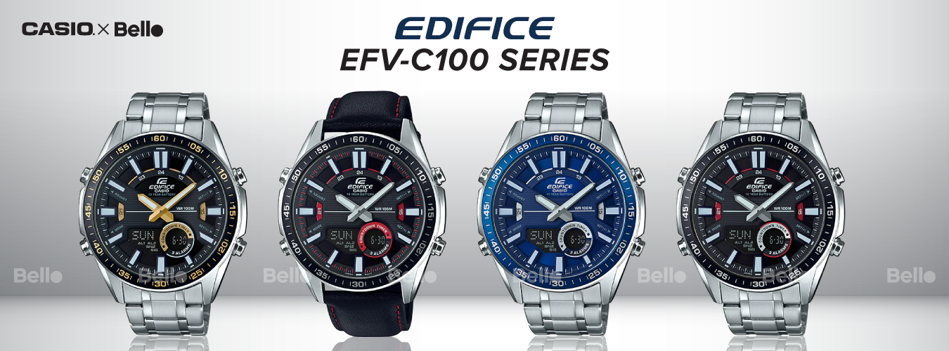 Casio Edifice EFV-C100 Series