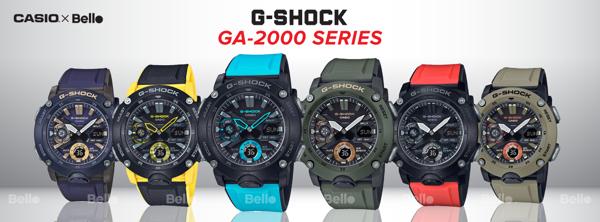 Đồng hồ G-Shock GA-2000 Carbon Core Guard chính hãng, giảm 15% VIP