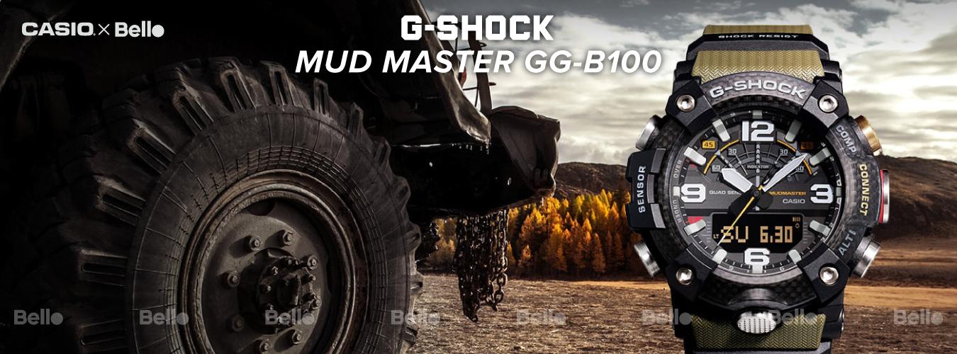 G-Shock Mudmaster GG-B100