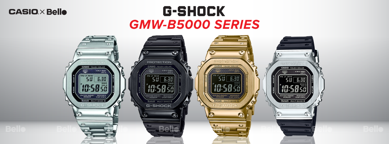 G-Shock GMW-B5000 Bluetooth®
