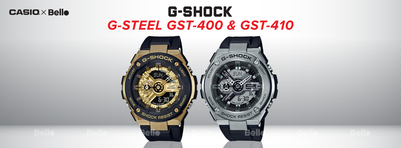 G-Shock G-Steel GST-400 & GST-410 Series