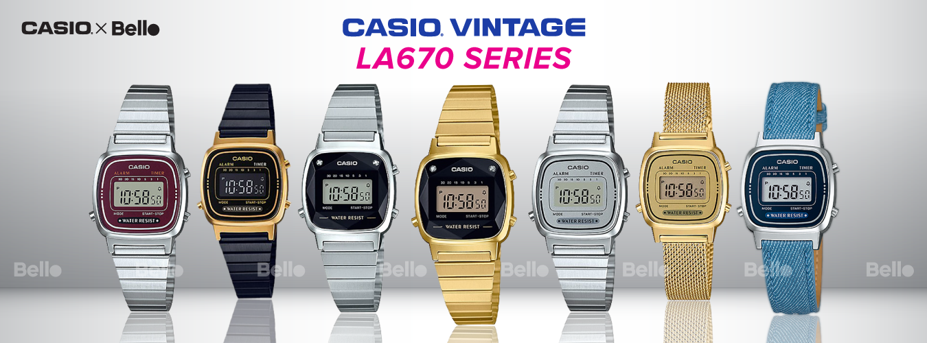 Casio Vintage LA670 Series