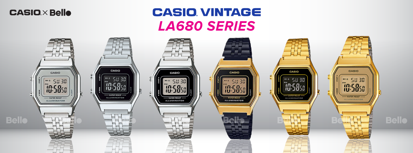 Casio Vintage LA680 Series