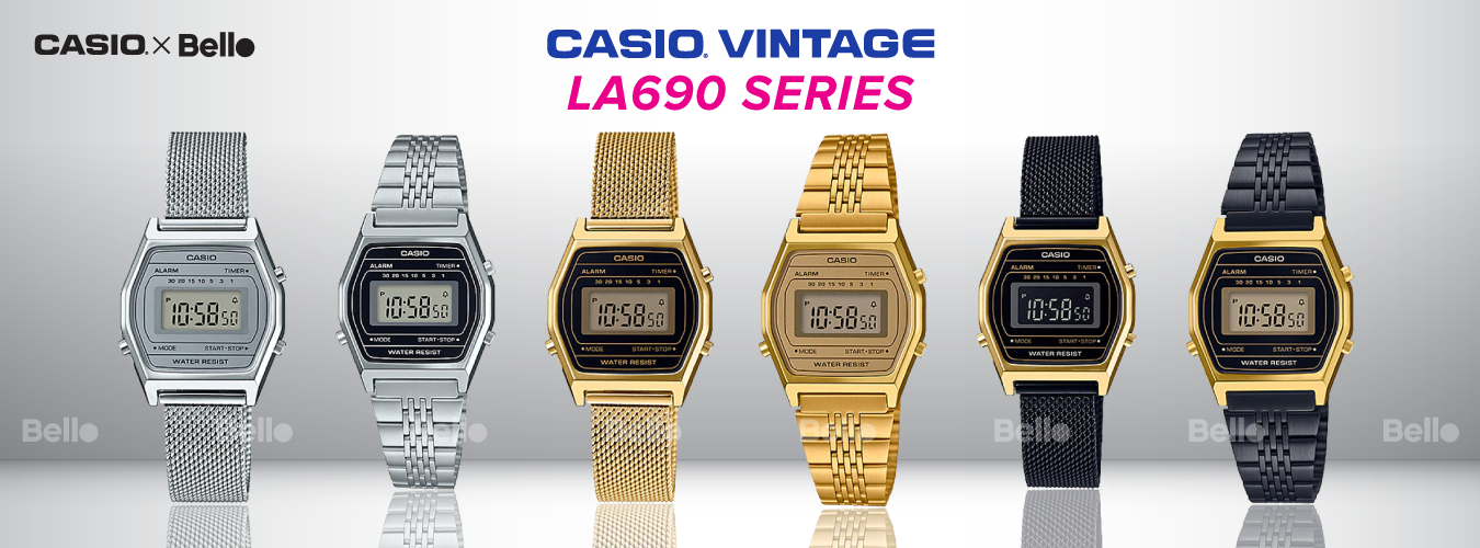Casio Vintage LA690 Series