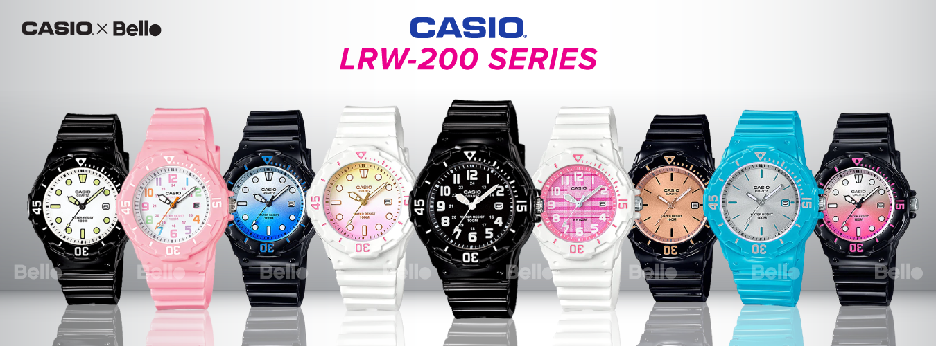 Casio Standard LRW-200 Series