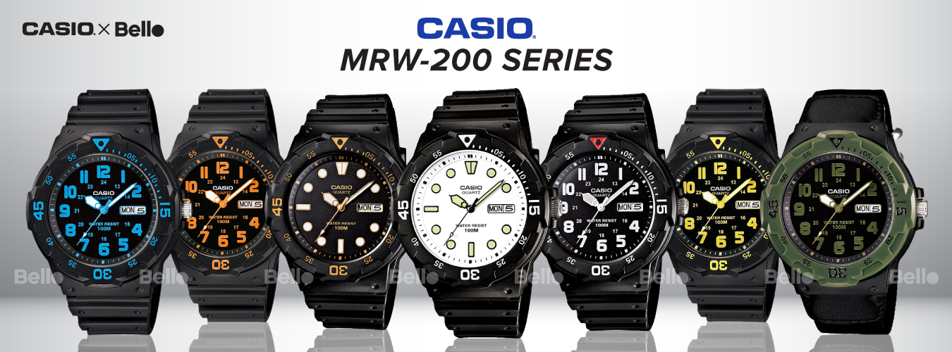 Casio Standard MRW-200 Series