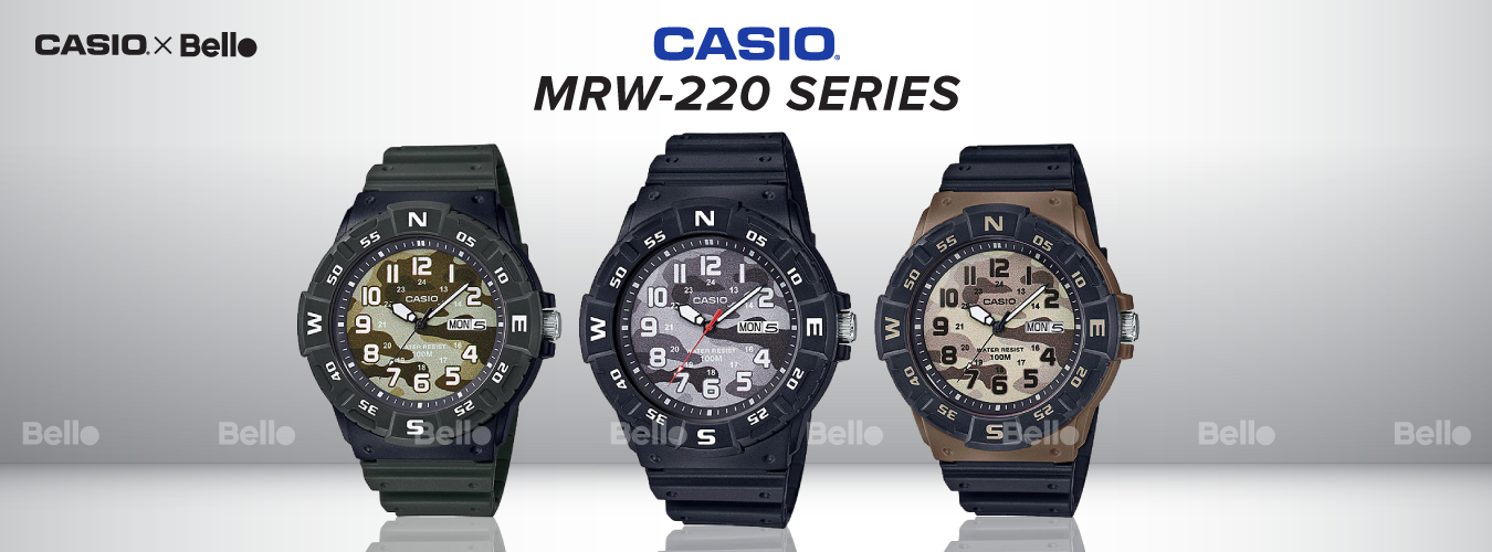 Casio Standard MRW-220 Series
