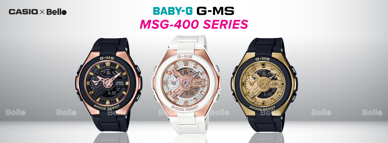 Casio Baby-G MSG-400 Series