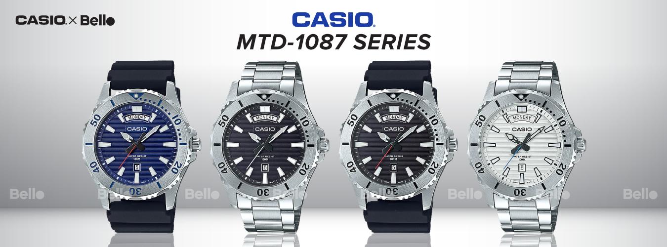Casio Standard MTD-1087 Series