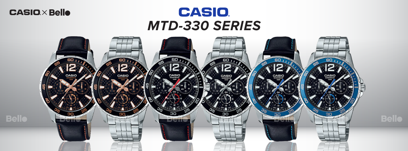 Casio Standard MTD-330 Series