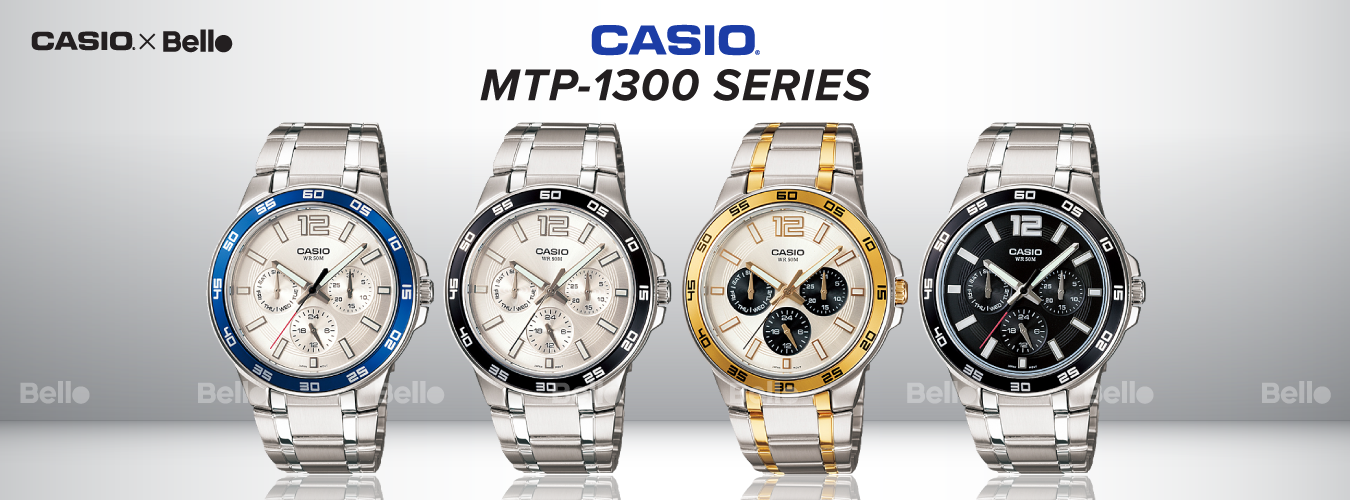 Casio Standard MTP-1300 Series