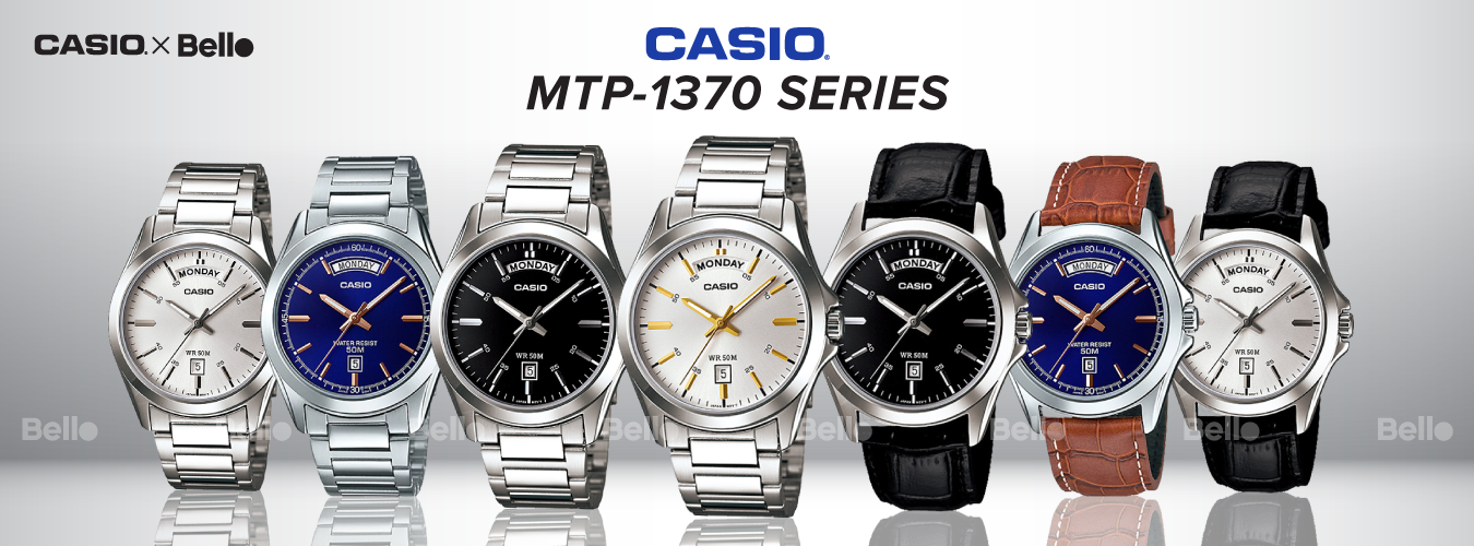 Casio Standard MTP-1370 Series