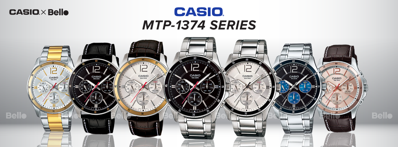 Casio Standard MTP-1374 Series