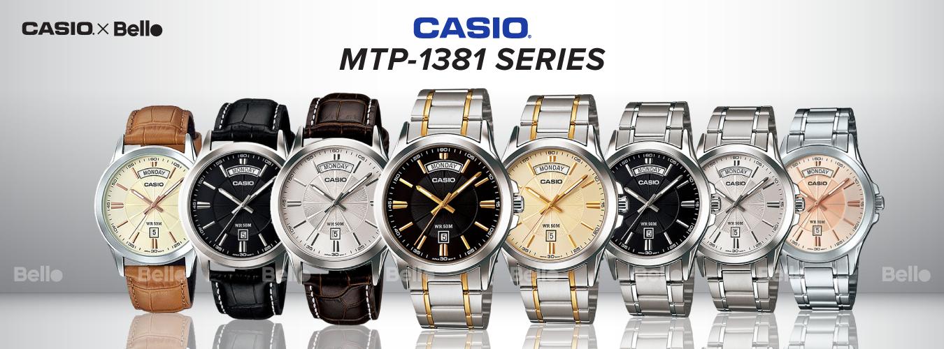 Casio Standard MTP-1381 Series