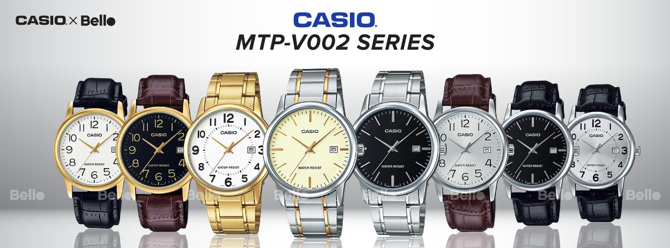 Casio Standard MTP-V002 Series