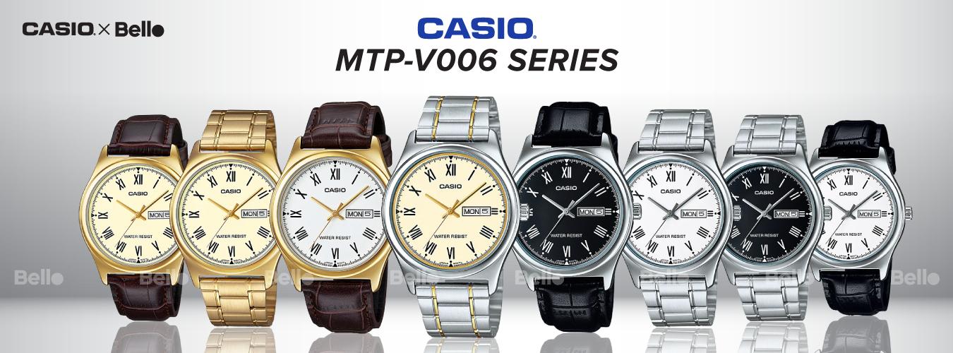 Casio Standard MTP-V006 Series