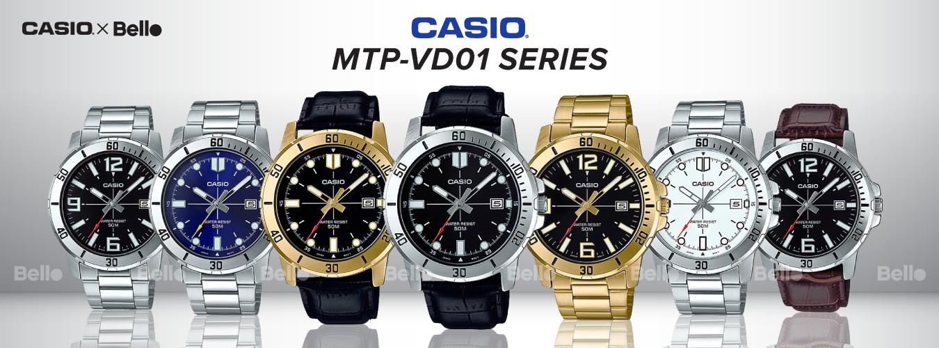 Casio Standard MTP-VD01 Series