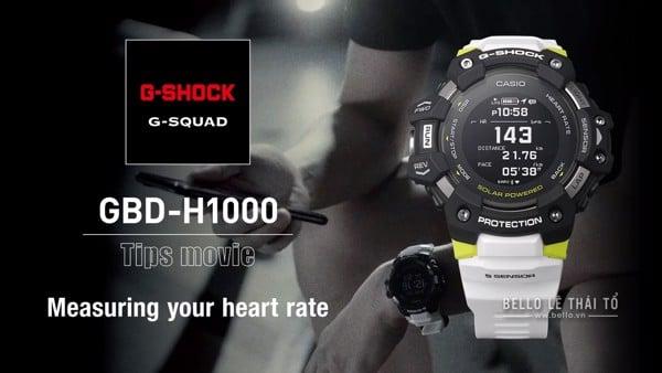 G-Shock G-Squad GBD-H1000 Video hướng dẫn sử dụng từ Casio G-Shock