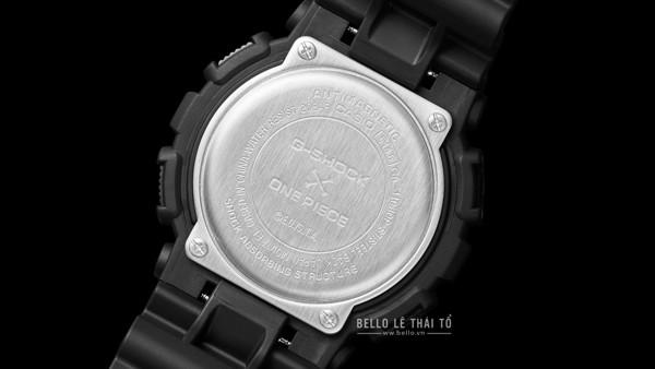 One Piece x G-Shock GA-110JOP-1A4 nắp lưng