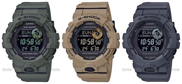 G-Shock G-Squad GBD-800UC phối màu quân đội Bello