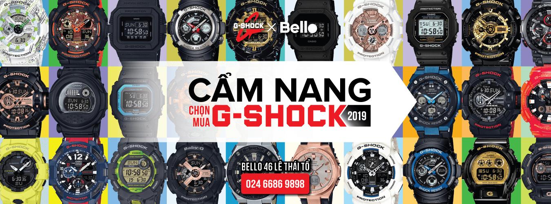 Cẩm nang chọn mua đồng hồ G-Shock Bello