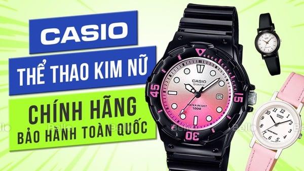 Đồng hồ Casio Thể Thao Kim Nữ