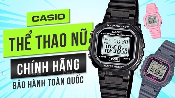 Đồng hồ Casio Thể Thao Nữ
