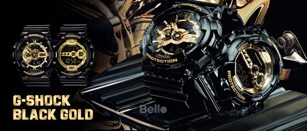 G-Shock Black & Gold