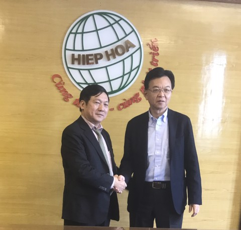 THE PRESIDENT OF FURUKAWA VISITS HIEP HOA GROUP