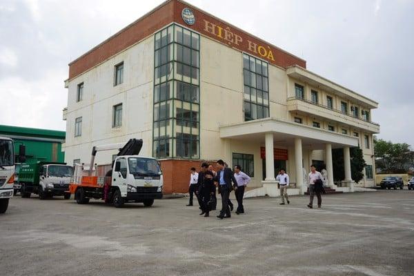Lãnh đạo Cục PCCC và CHCN đến thăm quan và làm việc tại Hiệp Hòa