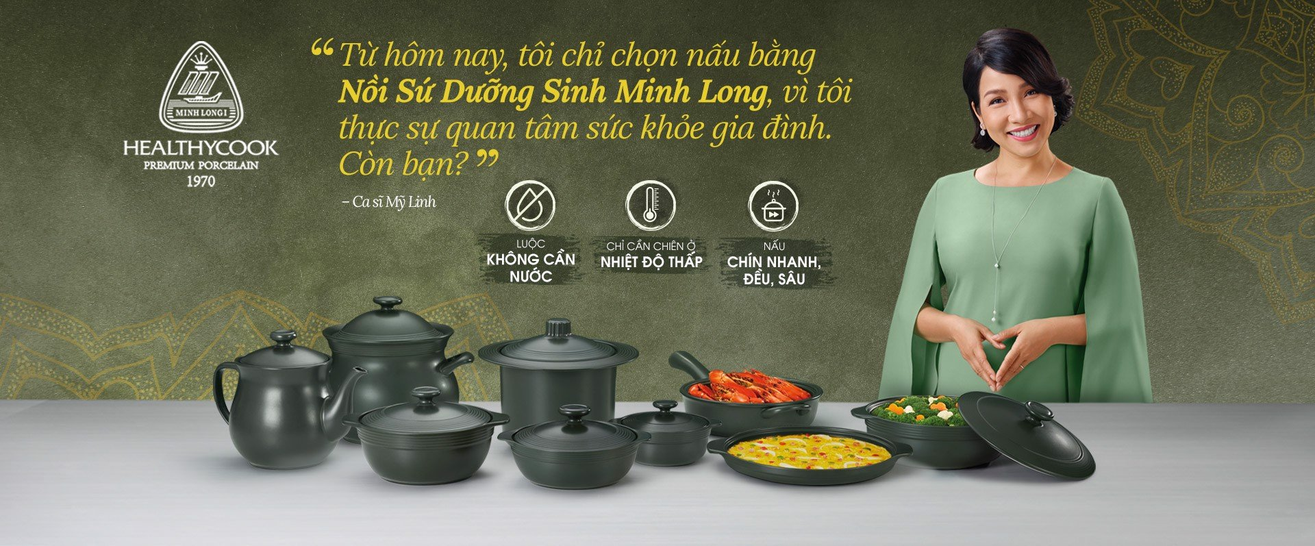 My Linh likes to eat self-cultivation vegetables, cooked with pot of nourishment