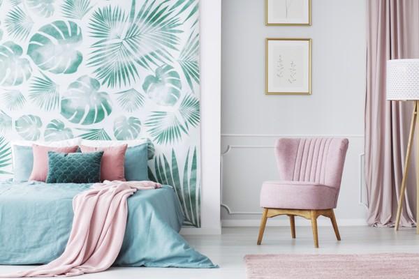Gợi ý 3 cách làm mới phòng ngủ với giấy dán tường