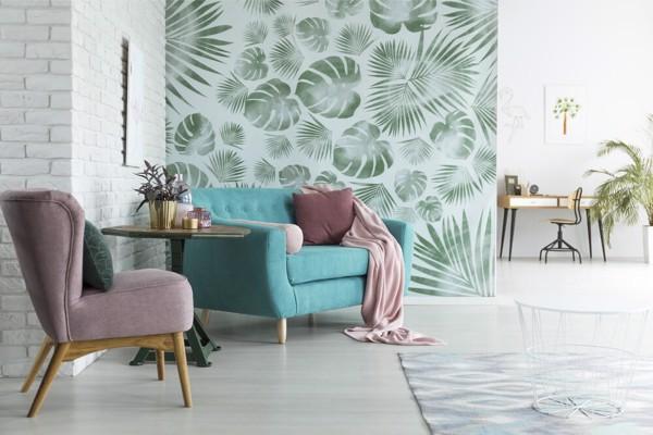 Tạo phong cách ấn tượng với 4 mẹo sử dụng giấy dán tường