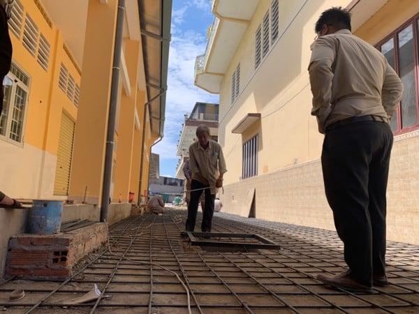 Hạng mục nâng nền, lắp đặt cống thoát nước công trình Hưng Minh Tự Quận 6