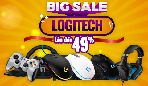 LOGITECH SALE UP TO LÊN ĐẾN 49%