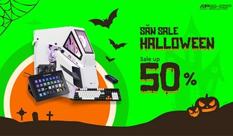 SĂN SALE HALLOWEEN- SALE UP TO 50%