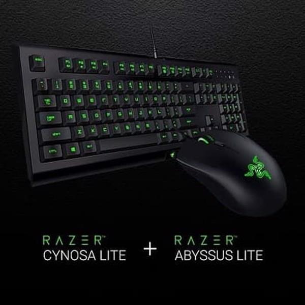 Combo Razer Cynosa Lite + Razer Abyssus Elite