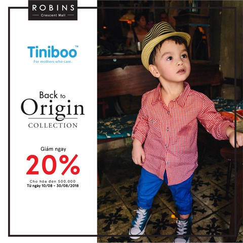 SALE OFF 20% |Tiniboo ROBINS Crescent Mall