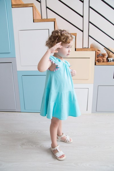 baby girl dresses elsa blue