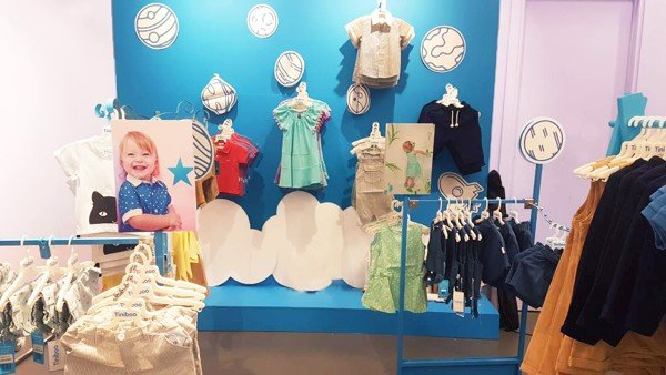Robins Crescent Mall 4th floor Tiniboo baby clothing